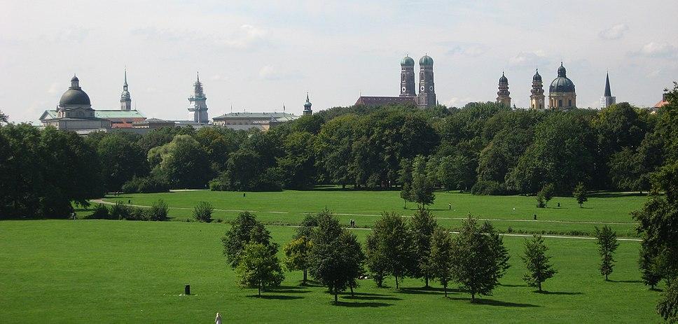 Englischer Garten from Monopteros