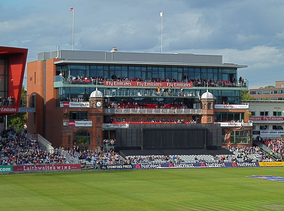 Enlarged pavilion at Old Trafford geograph-3720447-by-Anthony-ONeil