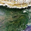 Envisat's MERIS image over the Himalayas ESA226457.tiff