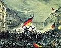 Ereignisblatt aus den revolutionären Märztagen 18.-19. März 1848 mit einer Barrikadenszene aus der Breiten Strasse, Berlin 01.jpg