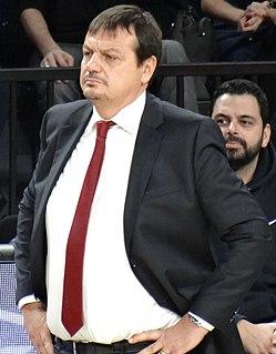 Ergin Ataman Turkish professional basketball coach