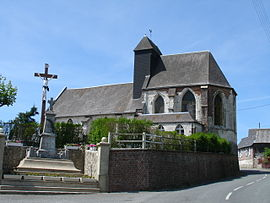 The church of Ergny
