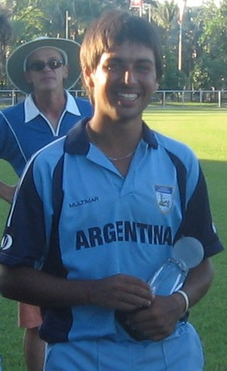 2007 ICC World Cricket League Division Three - Argentina Captain Estaban MacDermott was named Player of the Tournament