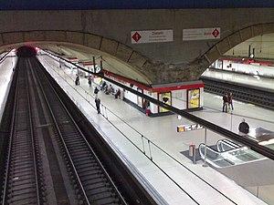 Cercanías Madrid - Image: Estación de Nuevos Ministerios (Madrid) 03
