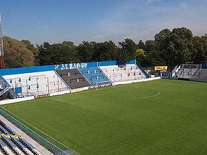2011–12 Copa Argentina - Image: Estadio Tres de Febrero popular