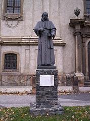Statue of Károly Esterházy in Pápa, Hungary