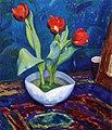 Eugene Speicher - Floral Still Life (13237143355).jpg