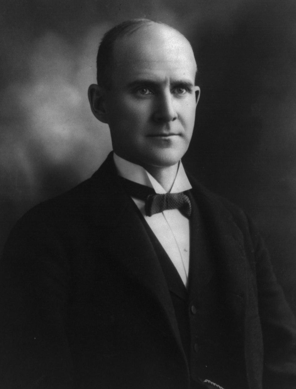 Eugene V. Debs, bw photo portrait, 1897