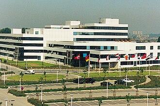 Eurocontrol - Headquarters of Eurocontrol in Brussels