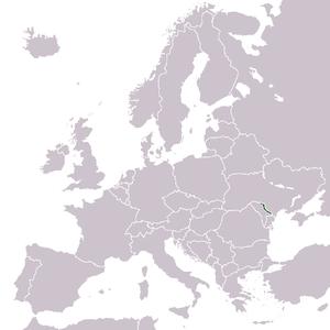 Outline of Transnistria - The location of Transnistria