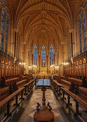 Exeter College, Oxford - Exeter College Chapel