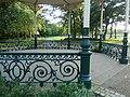 Exhibition Park bandstand, railings.jpg