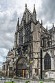 Exterior View of North Transept, Troyes Cathedral HDR 20140509 7.jpg