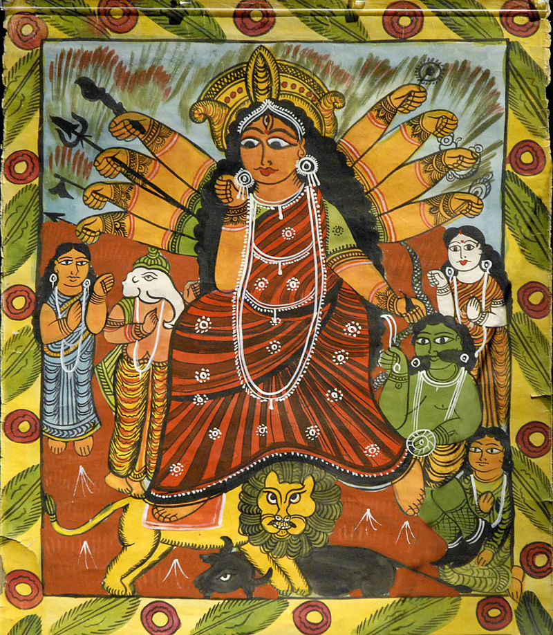 Extrait de Chandi Mangal de Hazra Chitrakar (Naya Bengale) (1439702942).jpg