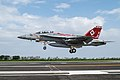 F-A-18E Super Hornet at Iwo Jima, Japan 150513-N-UF697-100.jpg