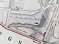 F.Corvinus Poznan Map 1856 (Polwiejska, Ogrodowa, Ev. Cemetery).jpg