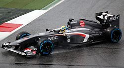 F1 2013 Barcelona test 2 - Sauber (cropped).jpg