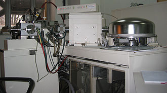 Fast atom bombardment - ThermoQuest AvantGarde MS with quadrupole detector and FAB/EI source.