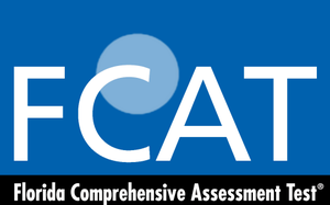 Florida Comprehensive Assessment Test - FCAT official blue logo