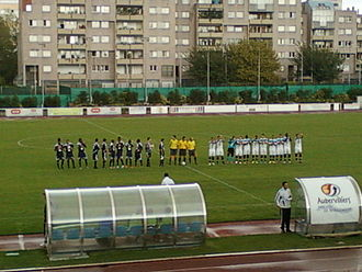 FCM Aubervilliers - Aubervilliers hosting Lille on 27 August 2011