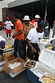 FEMA - 38115 - Food being passed out to evacuees returning to Louisiana.jpg