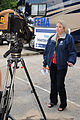 FEMA - 42192 - FEMA Public Information Officer on Camera at Disaster Center.jpg