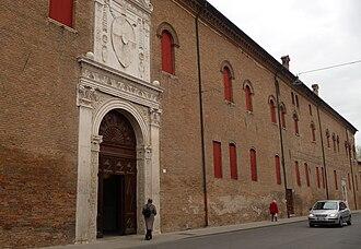 Palazzo Schifanoia - Main entrance (1470)