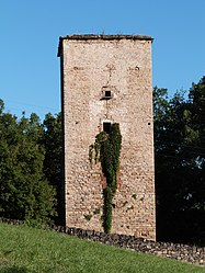 The tower in Les Cabannes
