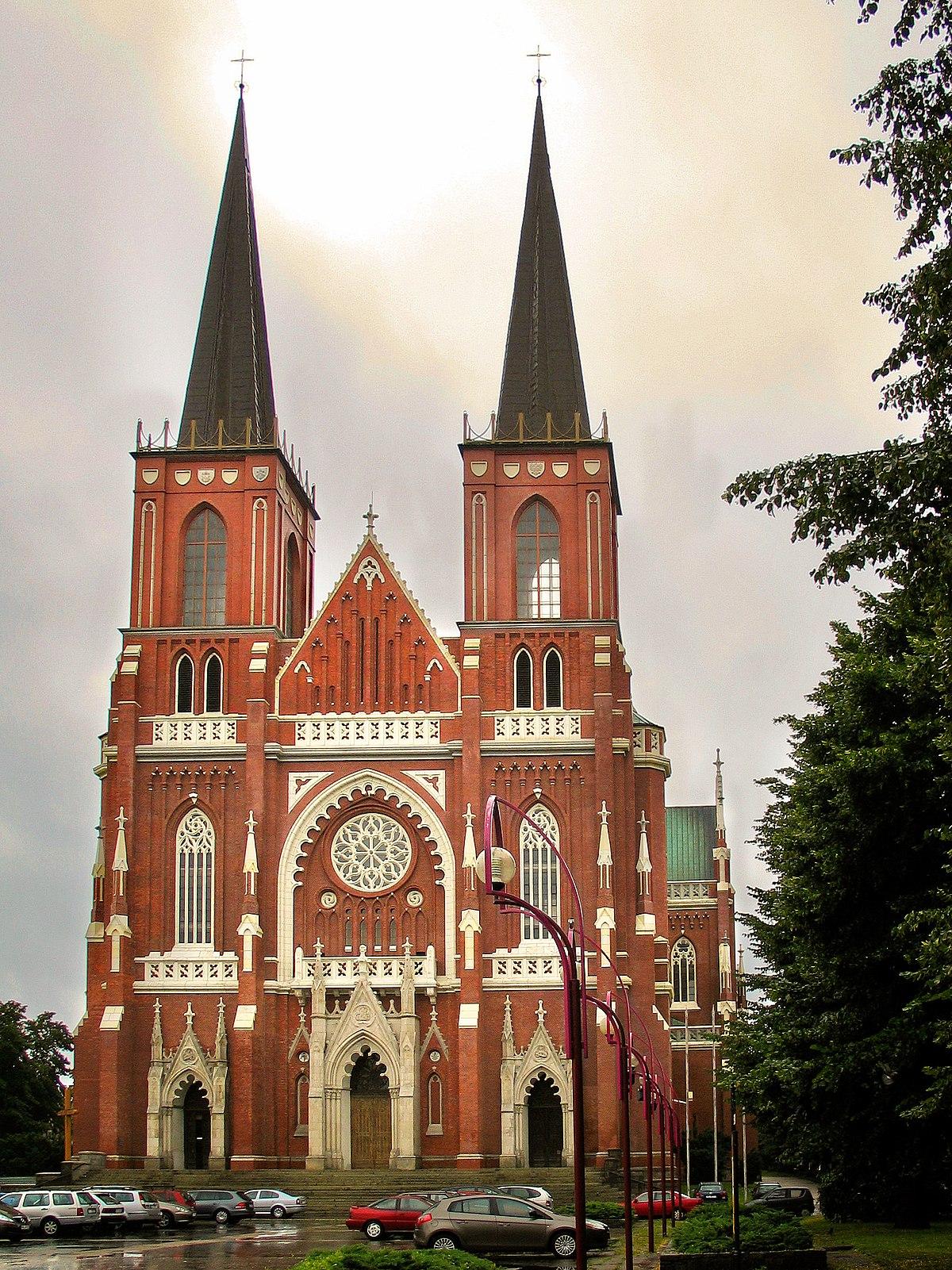 holy basilica częstochowa cathedral catholic rodziny wikipedia roman church bazylika poland archdiocese swietej świętej wikimedia sanktuarium country facade