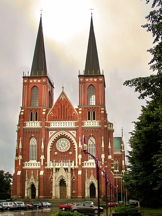 Roman Catholic Archdiocese of Częstochowa - The Cathedral Basilica of the Holy Family in Częstochowa