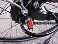 Fahrradschlauch erneuern SRAM S7 Schaltung vom Fahrrad Abbauen 3.JPG