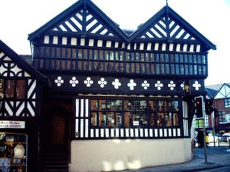 Chester - The Falcon Inn after restoration