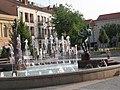 Faunok szökőkút (ifj. Blaskó János, 2006), Fő tér, 2010-07-23 Szombathely - panoramio (5).jpg