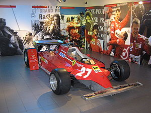 Ferrari 126C - Image: Ferrari 126 CK
