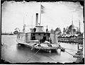 Ferry boat altered to Gunboat, Pamunkey river, Va., 1864-65 (4167040008).jpg