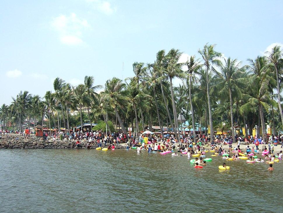 Festival beach Ancol Jakarta