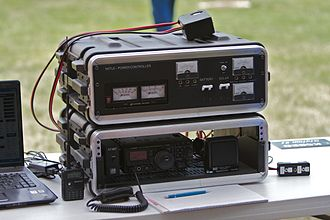 Amateur radio emergency communications - Rugged HF transceiver for voice communications