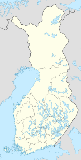 Helsinki is located in Finland