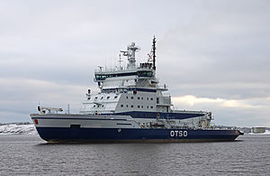 Otso returning from sea trials on 18 January 2012.