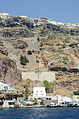 Fira and crater rim seen from the caldera - Santorini - Greece - 04.jpg