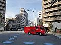 Fire truck in Ebisu.jpg