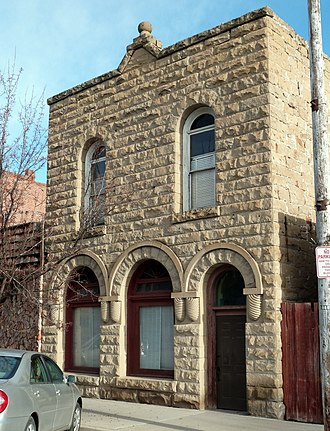 National Register of Historic Places listings in Malheur County, Oregon - Image: First Bank of Vale Vale Oregon