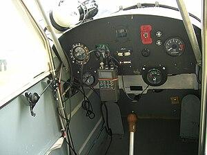 Fisher FP-202 Koala - FP-202 instrument panel