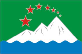 Ashinsky District - Image: Flag of Asha (Chelyabinsk oblast)