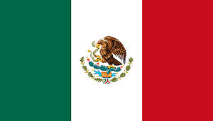Audition Online - Image: Flag of Mexico