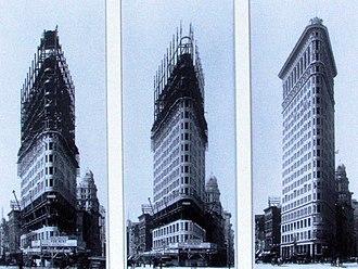 James Baird (civil engineer) - Construction of the Flatiron Building, 1901-02.