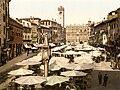 Flickr - …trialsanderrors - Piazza delle Erbe, Verona, Italy, ca. 1895.jpg