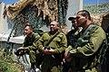 Flickr - Israel Defense Forces - Maj. Gen. Gadi Eisenkot of North. Cmd. and Brig. Gen Eyal Zamir of Division 36 this morning at Hila Lookout..jpg