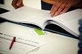 Flickr - boellstiftung - geöffnetes Exemplar der Romanskizzen (3).jpg