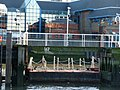 Floating pontoon on the wooden pier alongside the ferry terminal - geograph.org.uk - 1736827.jpg
